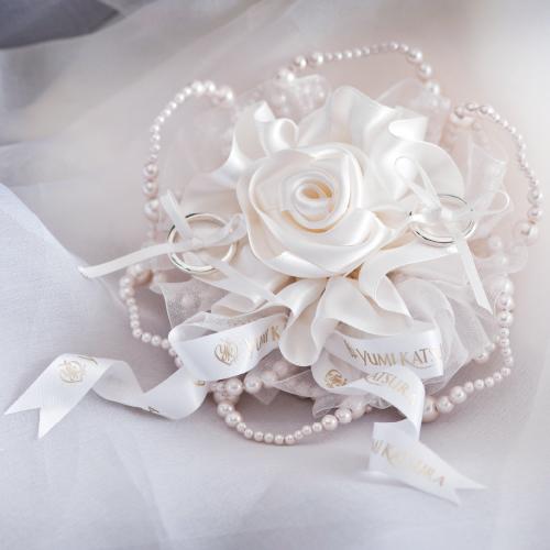リングピロー〔ローズユミ〕手作りキット|結婚式演出の手作りアイテム専門店B.G.