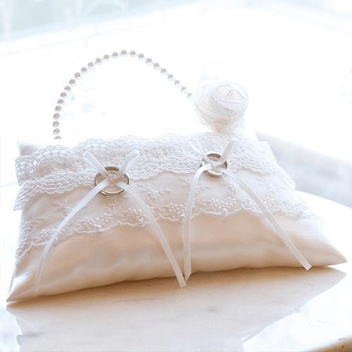 リングピロー〔パールバッグ〕完成品|結婚式演出の手作りアイテム専門店B.G.