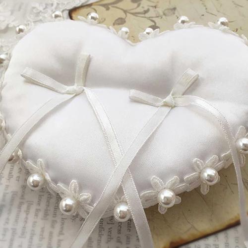 リングピロー〔小花ハート〕手作りキット|結婚式演出の手作りアイテム専門店B.G.