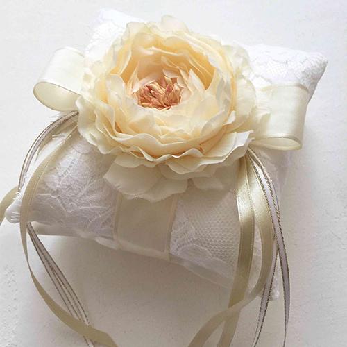 リングピロー〔リバーレース〕手作りキット|結婚式演出の手作りアイテム専門店B.G.