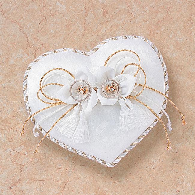 リングピロー〔和風ハート〕手作りキット|結婚式演出の手作りアイテム専門店B.G.