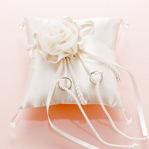 リングピロー〔モダン・シャンパンローズ〕手作りキット|結婚式演出の手作りアイテム専門店B.G.