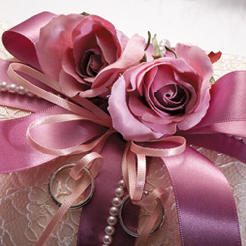 リングピロー〔ドラマティック・シャンパンゴールド〕手作りキット|結婚式演出の手作りアイテム専門店B.G.