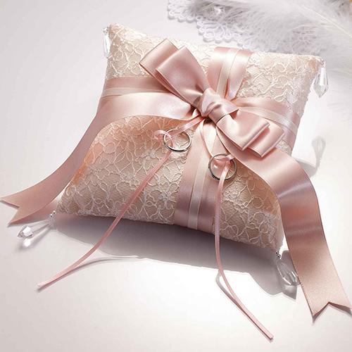 リングピロー〔ドラマティックリボン・ホワイト〕手作りキット|結婚式演出の手作りアイテム専門店B.G.