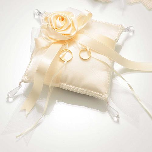 リングピロー〔スウィートローズ・クリスタル〕手作りキット|結婚式演出の手作りアイテム専門店B.G.