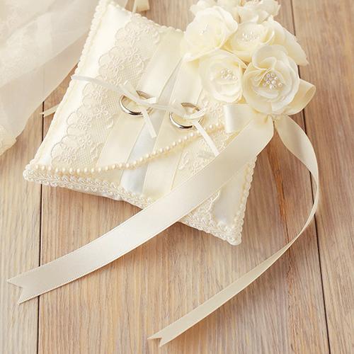 リングピロー〔モッコウバラ〕手作りキット|結婚式演出の手作りアイテム専門店B.G.
