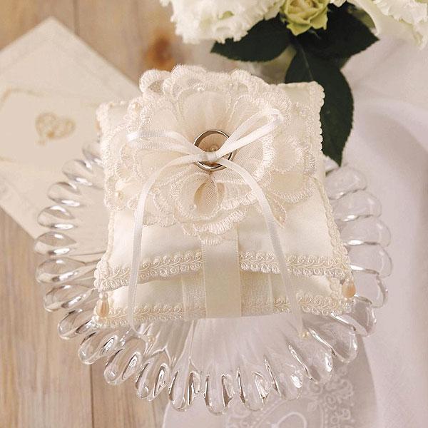 リングピロー〔ブーケレース〕手作りキット|結婚式演出の手作りアイテム専門店B.G.