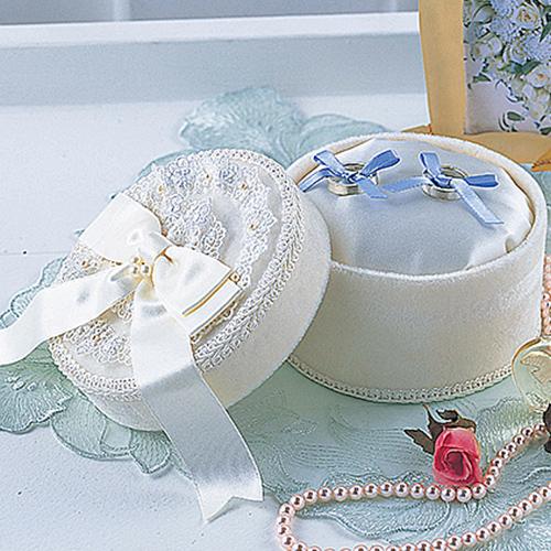 リングピロー〔リボンボックス〕手作りキット|結婚式演出の手作りアイテム専門店B.G.