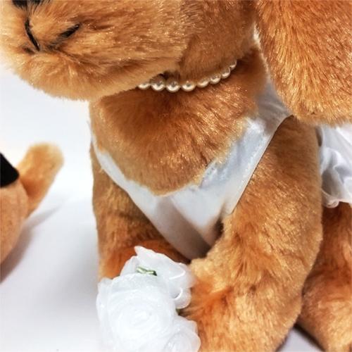 ウェルカムドール〔ダックス・ブラウン〕完成品 結婚式演出の手作りアイテム専門店B.G.